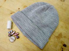 #DIY beaded hat