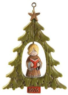 HALLMARK 1976 Hallmark Christmas Ornaments