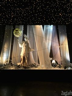 Christmas Window Displays At Selfridges - London 2015