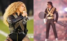 By channeling Michael Jackson, Beyoncé made and honored history at Super Bowl 50.