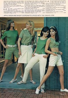 Joan Delaney Kathy Jackson unknown Colleen Corby JC Penneys catalog 60s