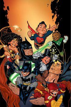 Batman and Superman by  Ryan Sook