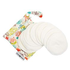 Washable Organic Nursing Pads 8 Pack Contoured Reusable Breast Breastfeeding Pads with Carry Bag * Check out the image by visiting the link. Nursing Pads, Postpartum Care, Wet Bag, Baby Registry, New Moms, Ebay, Carry Bag, Organic, Make Up