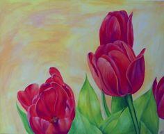 bilder gemalt acryl blumen