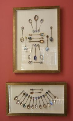 Spoon display as art - At home in Georgia with Design Principal and Founder of Historical Concepts Jim Strickland on the House Romantics series via Haskell Harris @magpiebyhaskellharris.blogspot.com