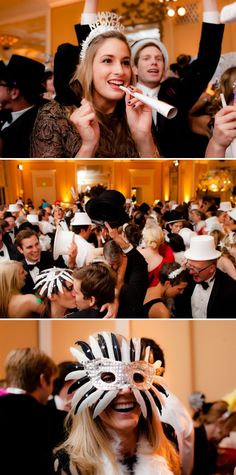 New Year's Wedding by The Youngrens + Imagine…Weddings and Special Events | Style Me Pretty