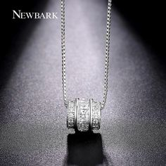 NEWBARK Classic Permanent Necklace White Gold Plated Channel Set CZ Necklaces & Pendants Jewelry Slide Vintage Collier     Tag a friend who would love this!     FREE Shipping Worldwide     Get it here ---> http://jewelry-steals.com/products/newbark-classic-permanent-necklace-white-gold-plated-channel-set-cz-necklaces-pendants-jewelry-slide-vintage-collier/    #earrings