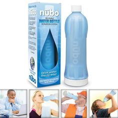 Nubo Reusable Filter Water Bottle 18 Ounce for Camping Hiking | eBay