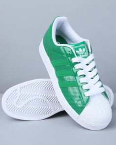 quite nice b6ea6 74e65 addias superstar 2 patent green n white sneakers from www.drjays.com White  Sneakers