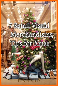 Visual Merchandising Tips for Retailers for the Christmas Holiday