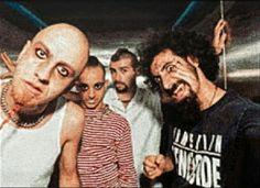 Shavo Odadjian, Daron Malakian, John Dolmayan y Serj Tankian!!!!
