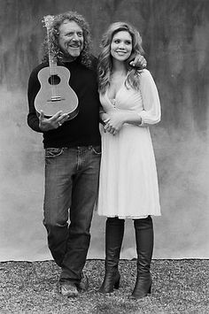 My favorite combination of soft and wild: Robert Plant & Alison Krauss