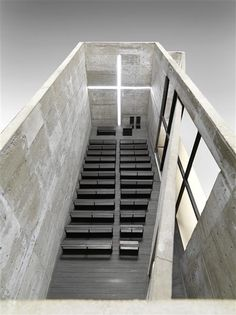 Visions of an Industrial Age: Tadao Ando, church of light, 1987 (via Réunion des musées nationaux)