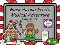 An engaging and ADORABLE PDF game for students to practice reading notes from the treble staff!