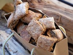 Apple Cinnamon Dog Training Bits Need help training your dog? This apple-cinnamon bits made just for dogs will surely help.