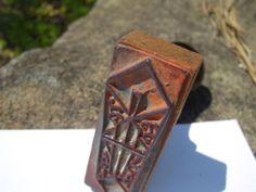 Japan Antique Stamp Press to Celebrations Vintage Wood Gum Unique Design