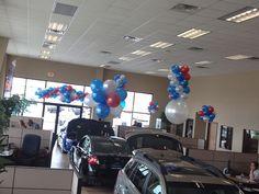 RWB Subaru - Balloon Man LLC #ballooncreations  #balloondesigns  Make your dealership look like a national TV commercial
