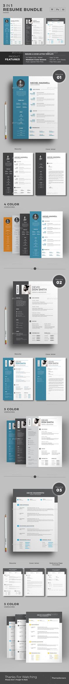 Material Resume Template Ai Indd Psd Resume