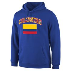 Colombia Fanatics Branded True Colors Pullover Hoodie - Royal