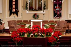 Christmas Church Decoration Ideas Popular Sanctuary Decorated For . & Church Christmas Decorating Ideas | Church | Pinterest | Churches ...