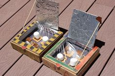 DIY Solar Oven S'mores are the perfect fun learning and celebrating activity in the summer! Science + Dessert = Awesome