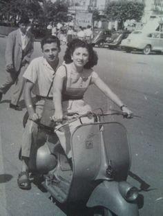 Vespa #women  #scooters