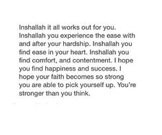 To...everyone. Ameen.