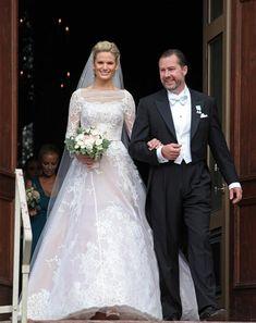 Como los Grimaldi, la Familia Real de Suecia también estaba de boda