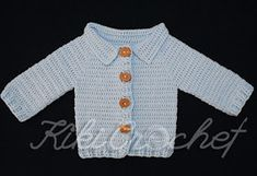 a165aca97d3 Kiki Crochet: Πλεκτο Ευκολο Παιδικο Ζακετακι (φωτο & βιντεο) Εύκολο  Βελονάκι, Βελονάκι