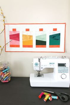 Garment District Mini Quilt Kit by Christopher Thompson for Riley Blake Designs Christopher Thompson, Garment District, Riley Blake, Quilt Kits, Quilts, Quilt Making, Creative Inspiration, Mini, Inspire