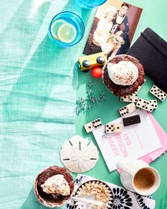 Chocolate Hazelnut Pudding Cakes | Rachael Ray Every Day