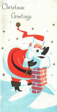 fun Santa illustration