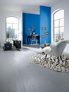 Parkettboden hellgrau  Parkettboden in Eiche crème-grau | Wohnung Deko | Pinterest ...