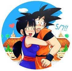 Goku e Chichi ❤