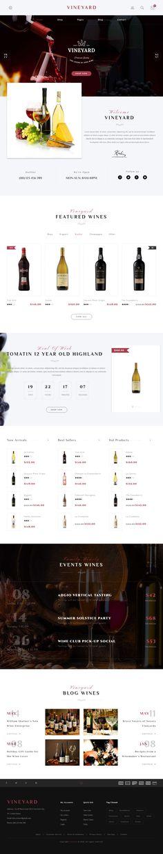 Vineyard is Premium Responsive Retina #WordPress #Wine Theme. #Parallax Scrolling. WooCommerce. Visual Composer. Bootstrap 3. Test free demo at: http://www.responsivemiracle.com/vineyard-premium-responsive-wine-store-blog-wordpress-theme/