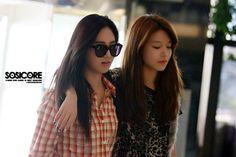 Sooyoung and Yuri at Gimpo Airport #FashionAirport