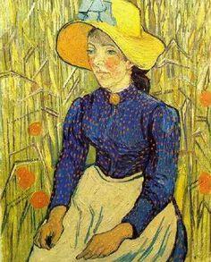 고흐 - 젊은 시골여인의 초상