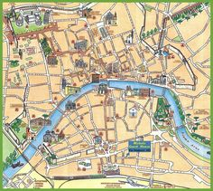 Printable Tourist Map of pisa Walk Maps Florence Italy Related
