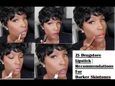 25 Drugstore Lipstick Recommendations for Darker Skin (Swatched on Lips)