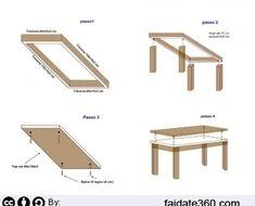 Mobili e arredamento tavolo legno fai da te for Costruire un tavolo da cucina in legno ...