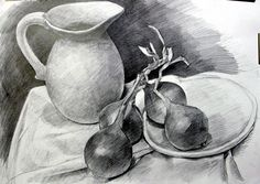 41 Vase Still Life Pencil Drawing Ideas - Art Still Life Sketch, Dance Art, Sketch Design, Pencil Drawings, Most Beautiful Pictures, Places To Visit, Watercolor, Drawing Ideas, Painting