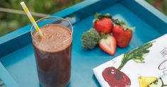 This Blast, full of fiber and vitamin K, low-glycemic strawberries, and beets, which help combat inflammation and shown to potentially help lower blood pressure, is perfect as an early morning breakfa...