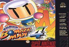 Super Nintendo - Super Bomberman 4