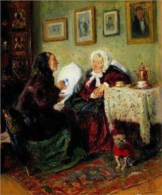 Tete-a-Tete - Vladimir Makovsky
