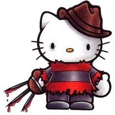 zombie hello.kitty | artículos en venta con Hello Kitty Terror Horror Zombie humor c