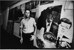 """""""The artist's job is to be a witness to his time in history."""" - Robert Rauschenberg"""