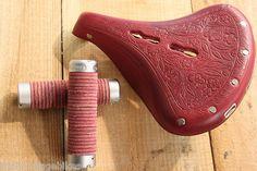 Brooks B18 Lady Limited Edition - Lola's Saddle & Grips