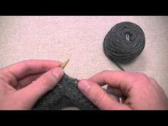 Knitting a Bobble
