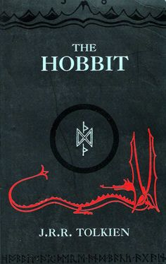The Hobbit. Read this again. Tolkien is a genius. I never get tired of Middle Earth. Jrr Tolkien, Tolkien Books, The Hobbit Book Cover, The Book, Book Cover Art, Book Cover Design, Book Covers, Book Art, Books To Read