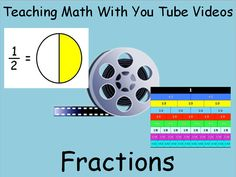 Here are some great songs and You Tube videos to help you teach fractions.  Range of skills grades 1-5
